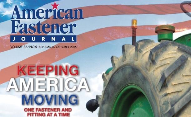 American Fastener Journal, September/October 2016