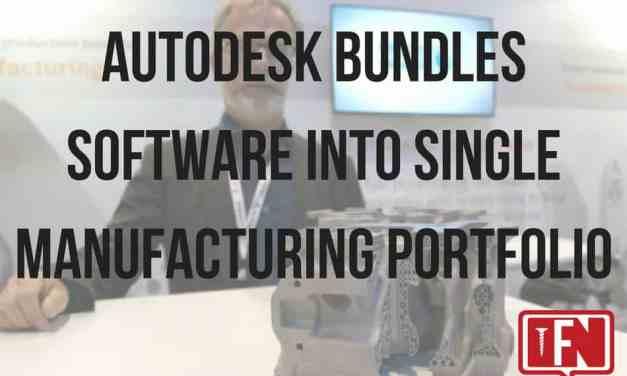 Autodesk Bundles Software into Single Manufacturing Portfolio