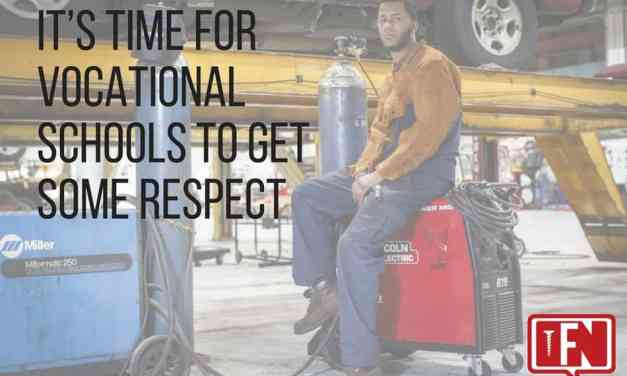 It's Time for Vocational Schools to Get Some Respect