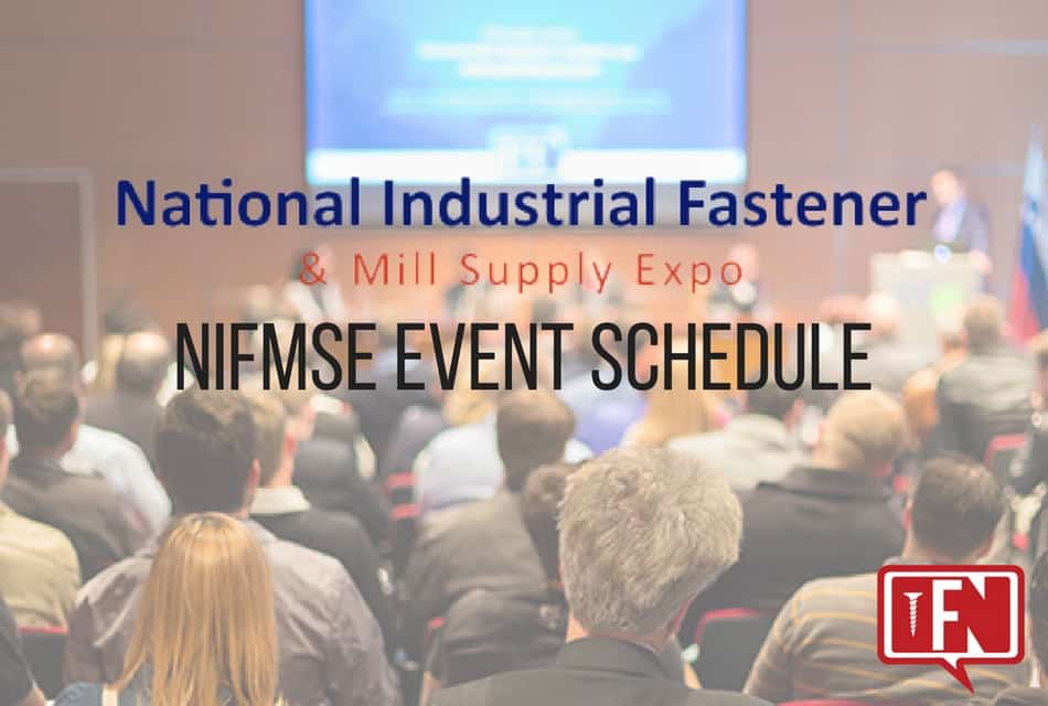 Plan Your Show Experience: Fastener Show Event Schedule