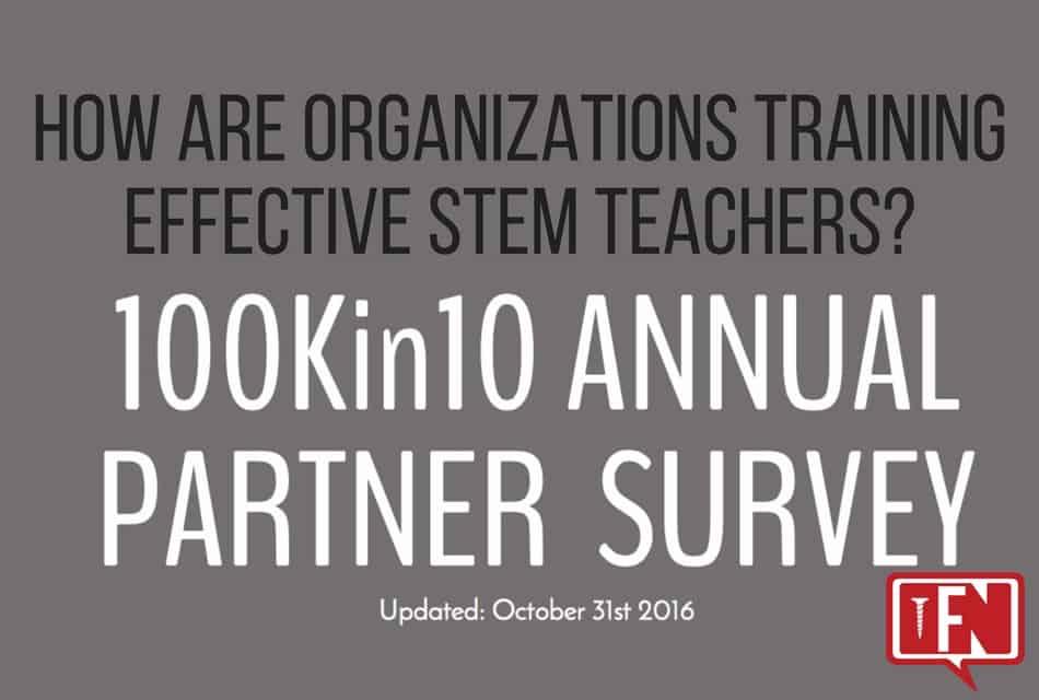 How Are Organizations Training Effective STEM Teachers?