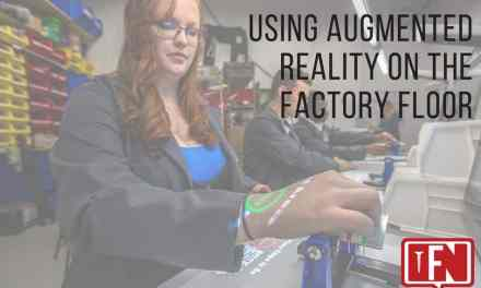 Using Augmented Reality On The Factory Floor