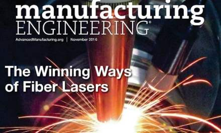 Manufacturing Engineering, November 2016