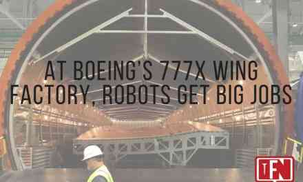At Boeing's 777X Wing Factory, Robots Get Big Jobs