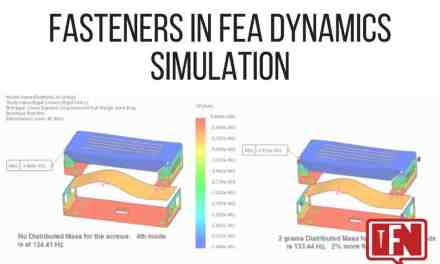 Fasteners In FEA Dynamics Simulation