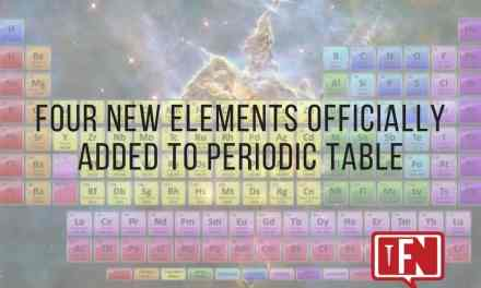 Four New Elements Officially Added to Periodic Table