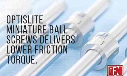 optiSLITE Miniature Ball Screws Delivers Lower Friction Torque.