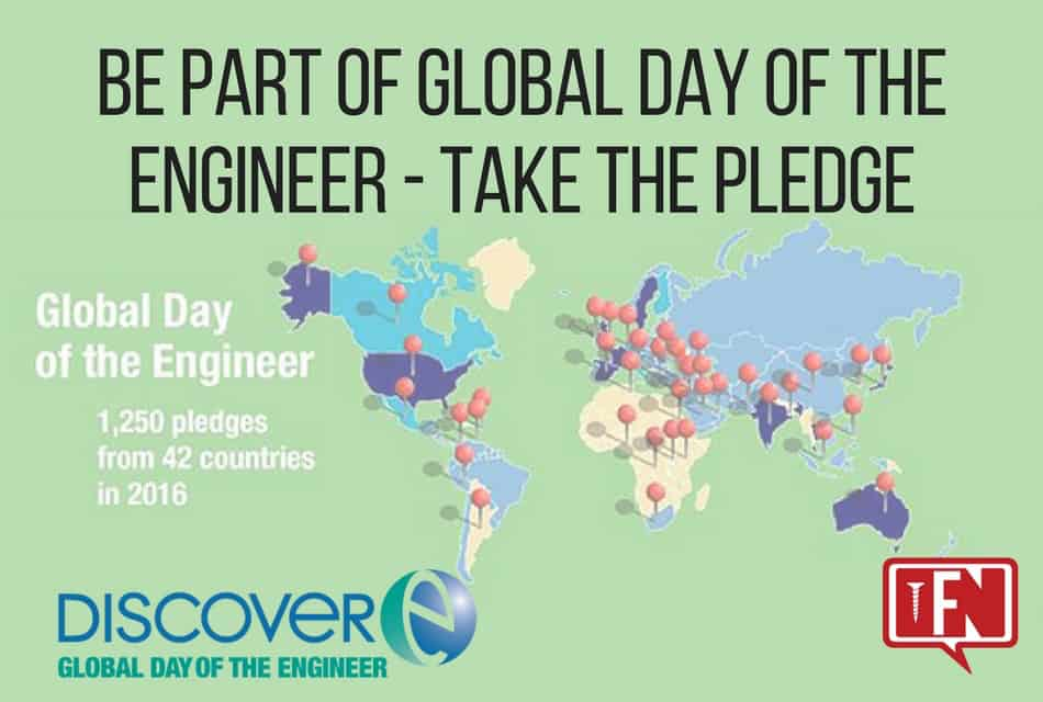 Be Part of Global Day of the Engineer – Take the Pledge