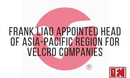 Frank Liao Appointed Head of Asia-Pacific Region for Velcro Companies
