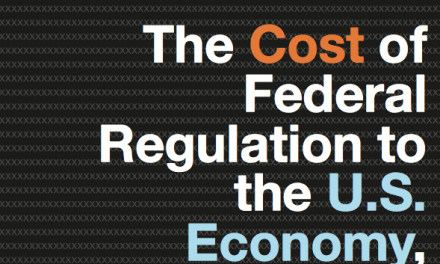 The Cost of Federal Regulation to the U.S. Economy, Manufacturing and Small Business
