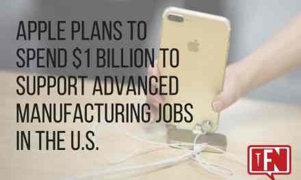 Apple Plans to Spend $1 Billion to Support Advanced Manufacturing Jobs in the U.S.