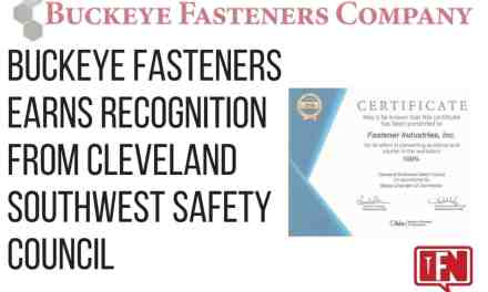 Buckeye Fasteners Earns Recognition from Cleveland Southwest Safety Council