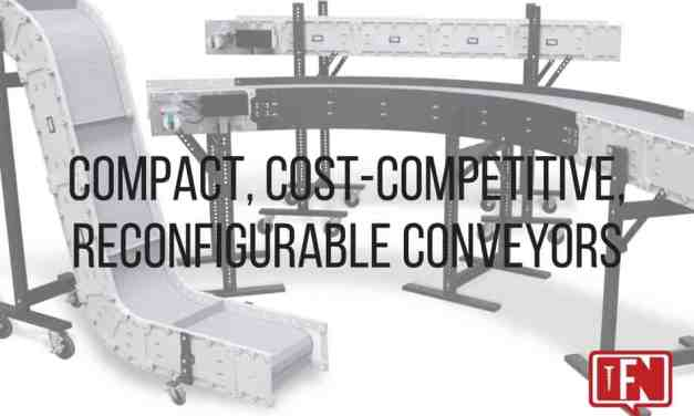 Compact, Cost-Competitive, Reconfigurable Conveyors