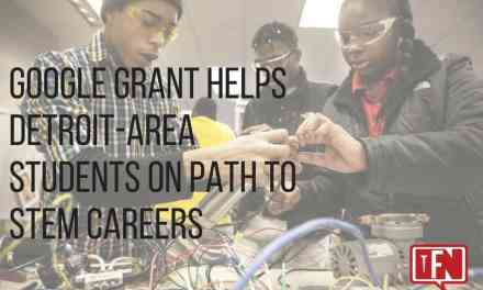 Google Grant Helps Detroit-Area Students on Path to STEM Careers
