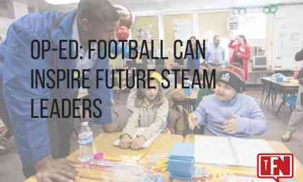 Op-Ed: Football Can Inspire Future STEAM Leaders