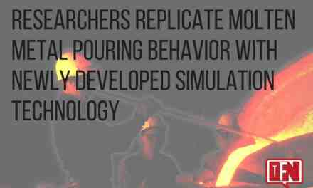 Researchers Replicate Molten Metal Pouring Behavior with Newly Developed Simulation Technology