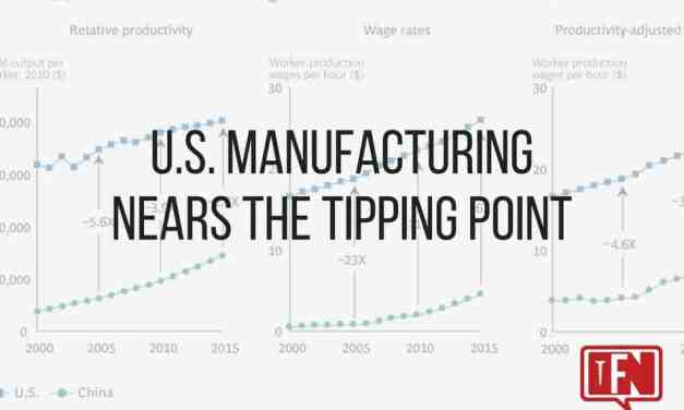 U.S. Manufacturing Nears the Tipping Point