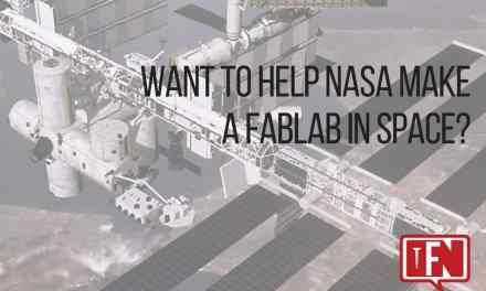 Want to Help NASA Make a FabLab in Space?