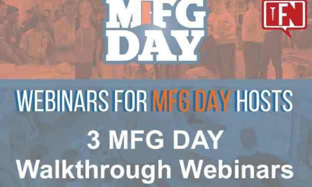 Webinars for MFG Day Hosts