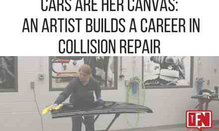 Cars are Her Canvas: An Artist Builds a Career in Collision Repair