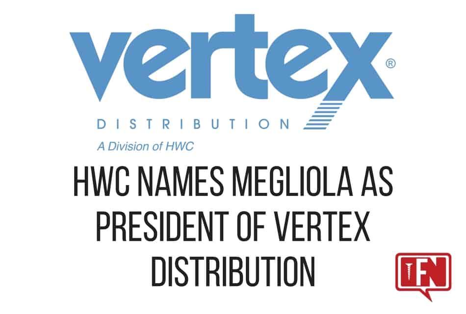 HWC Names Megliola as President of Vertex Distribution