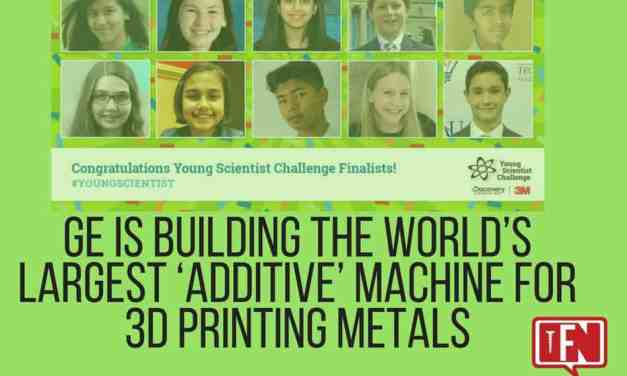 Here are the 2017 Young Scientist Challenge Finalists and State Merit Winners!