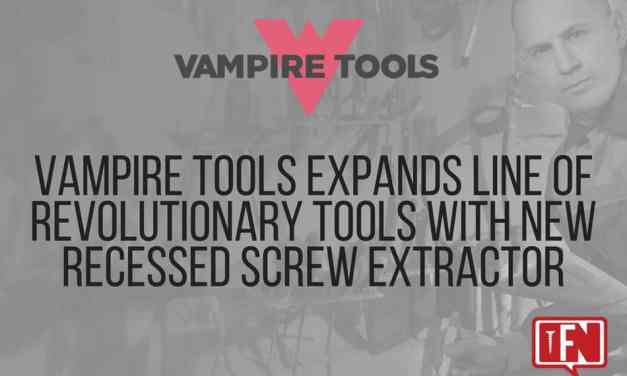 Vampire Tools Expands Line of Revolutionary Tools with New Recessed Screw Extractor
