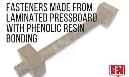 Fasteners Made from Laminated Pressboard with Phenolic Resin Bonding