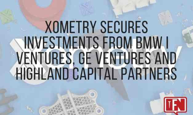 Xometry Secures Investments from BMW i Ventures, GE Ventures and Highland Capital Partners