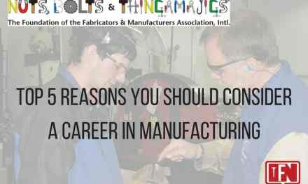 Top 5 Reasons You Should Consider a Career in Manufacturing