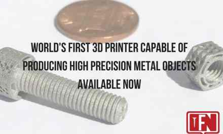 World's First 3D Printer Capable of Producing High Precision Metal Objects Available Now