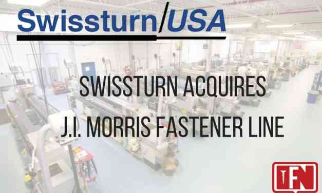 Swissturn/USA Purchases J.I. Morris Fastener Line