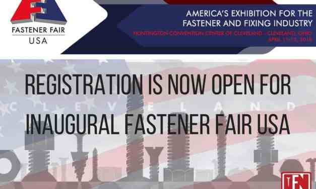 Registration Is Now Open for Inaugural Fastener Fair USA