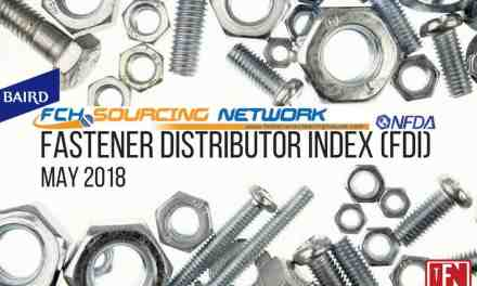 R.W. Baird and FCH Sourcing Network Released Monthly Fastener Distributor Index (FDI) for May 2018