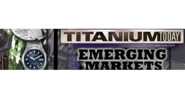 Titanium Today, 2018
