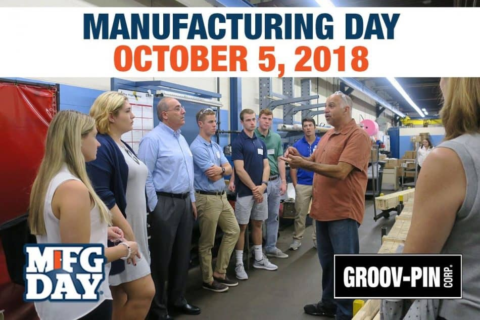 Celebrate Manufacturing Day 2018 with Groov-Pin