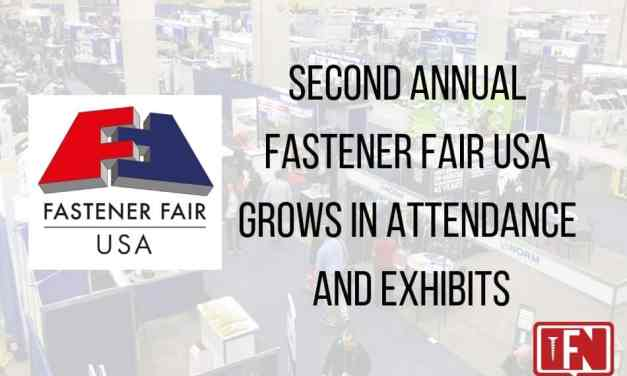 Second Annual Fastener Fair USA Grows in Attendance and Exhibits
