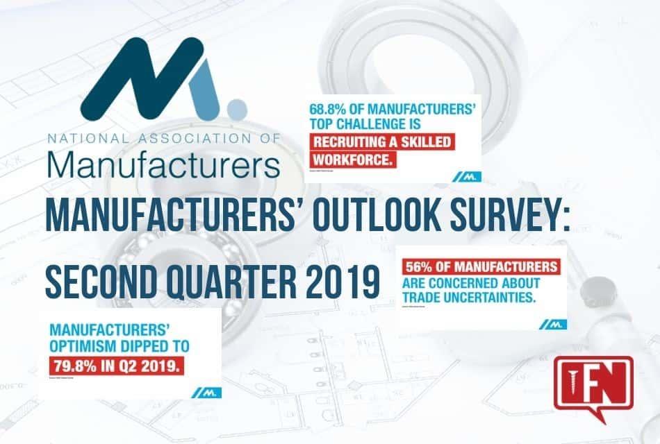 2019 2nd Quarter Manufacturers' Outlook Survey