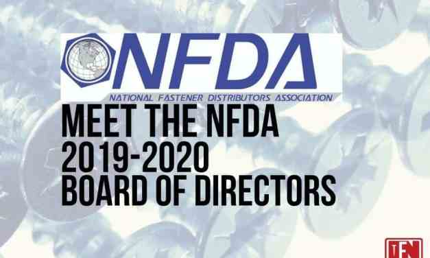 Meet The National Fastener Distributors Association's 2019 – 2020 Board of Directors