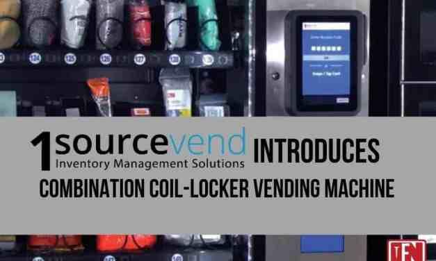 1sourcevend to Release New Combination Coil-Locker Vending Machine