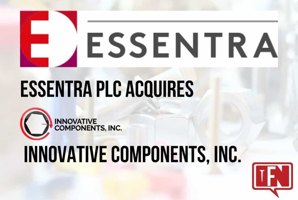 Essentra plc Acquires Schaumburg Based Innovative Components, Inc.