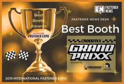 Best Booth Awards AFIXX-Crossroad CDS