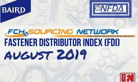Fastener Distributor Index – August 2019