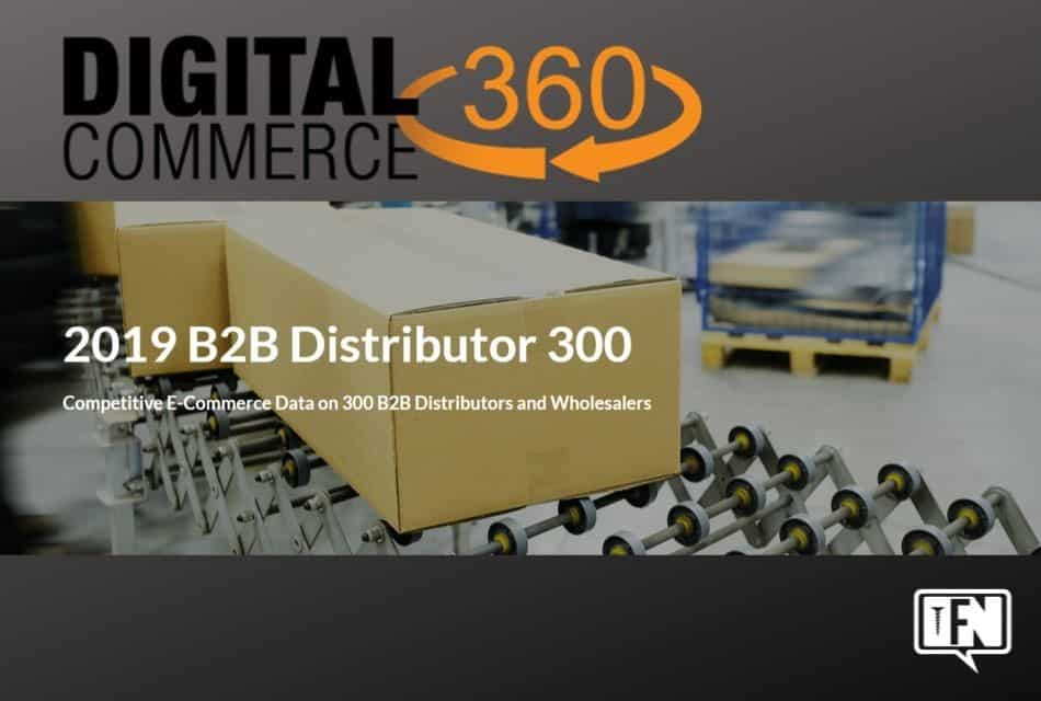 New Competitive E-Commerce Data on 300 B2B Distributors and Wholesalers