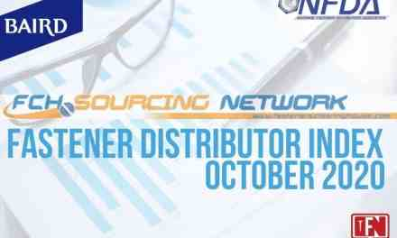 FASTENER DISTRIBUTOR INDEX (FDI) SURVEY OCTOBER 2020