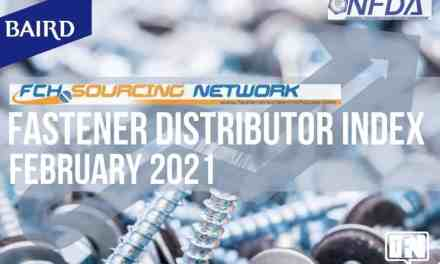 FASTENER DISTRIBUTOR INDEX (FDI) | FEBRUARY 2021