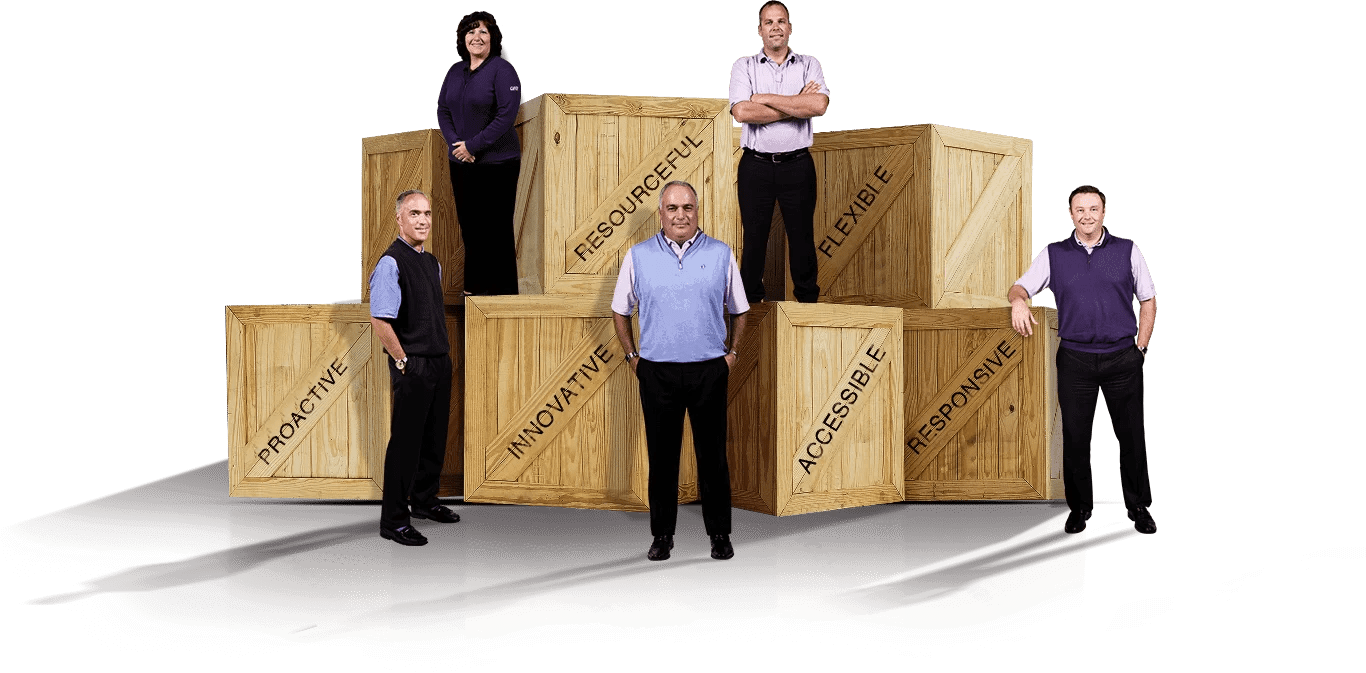 Faster Freight's ocean shipping services
