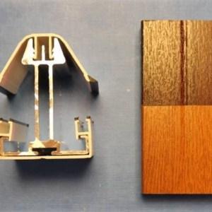 25mm Glass Heavy Bar (Woodgrain) | Conservatory Roof Bars | Conservatory Bars | PVC Bars | Faster Plastics