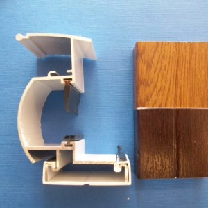 Variable Wall Plate (Woodgrain) | Conservatory Roof Bars | Conservatory Bars | PVC Bars | Faster Plastics