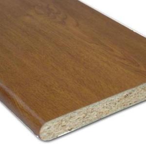 Laminated Cill (Golden Oak)   Cills and Skirting   Faster Plastics